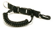 Action Quest Quick Release Spiral Lanyard with Clip