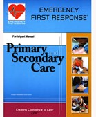 PADI Emergency First Response Primary and Secondary Care Participant Manual (English)