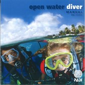 PADI Open Water Diver Manual with RDP Table (Japanese)