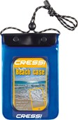 Cressi Waterproof Beach Case Bag - Blue