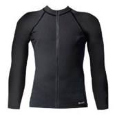 Aeroskin Long Sleeve with Fuzzy Collar & Front Zip