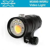 X Adventurer M3800 WSRU True-color Video Light