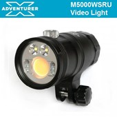 X Adventurer M5000 WSRU Video Light