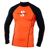 Scubapro T-Flex Long Sleeve Men Orange UPF80