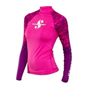 Scubapro Rashguard Long Sleeve Flamingo Lady UPF50