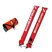 Scubapro Sealed Marker Buoy Nylon Orange 1m