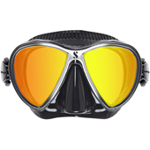 Scubapro Synergy Twin Trufit Mask - Silver Mirror Lens