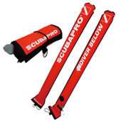 Scubapro Sealed Marker Buoy Nylon Orange 1.4m