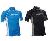 Cressi Rash Guard Man Short Sleeves