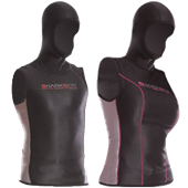 Sharkskin Chillproof Vest with Hood
