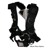 Oxycheq Deluxe Adjustable Harness System - Black