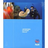 PADI Advanced Open Water Diver Manual w/Data Carrier(Chinese)