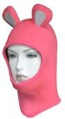 Scubatec Pink Mouse Hood (Free size)